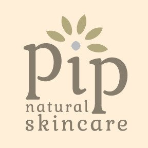 Pip Natural Skincare logo design