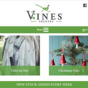 Vines County Website Launched