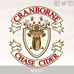 Cranborne Chase Cider website by The Web Booth