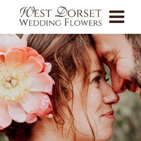 West Dorset Wedding Flowers website by The Web Booth