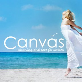 Canvas Dry Cleaning website by The Web Booth