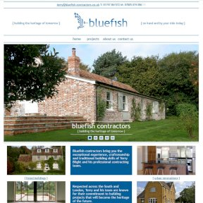 Bluefish Contractors Website