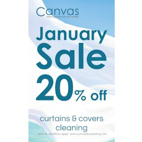 Sale window banner
