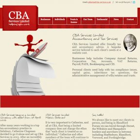 CBA Services Website