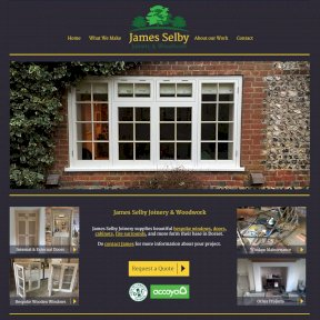 James Selby Joinery Website