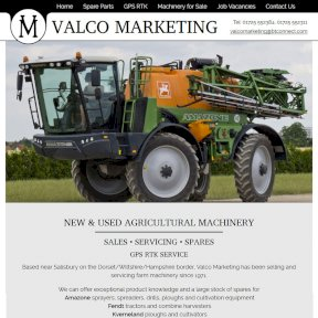Valco Marketing Website