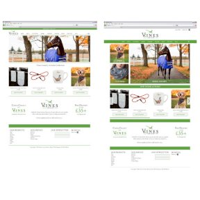 Vines Country Website Designs