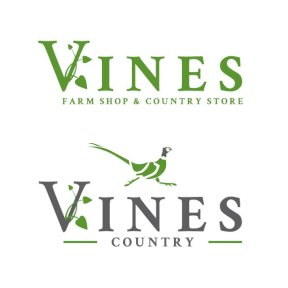Final logos for Vines Country